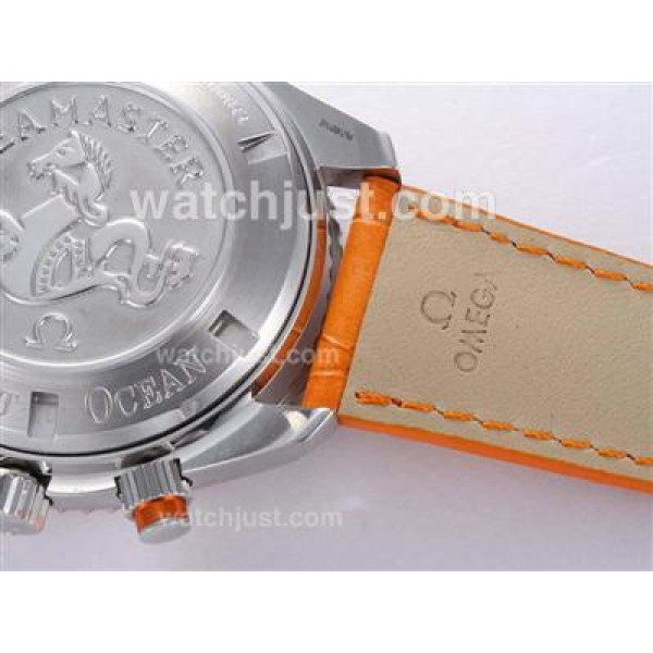 Quality UK Sale Omega Planet Ocean Automatic Replica Watch With Black Dial For Men