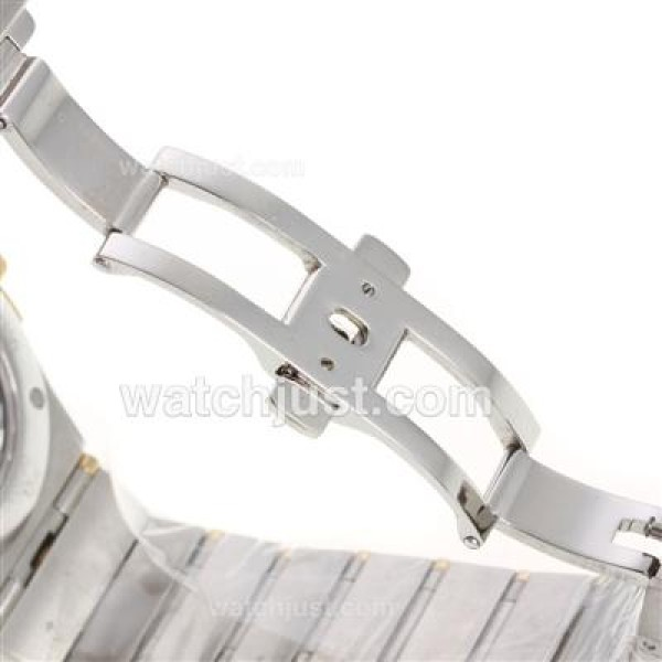 Best UK Omega Constellation Automatic Fake Watch With White Dial For Men