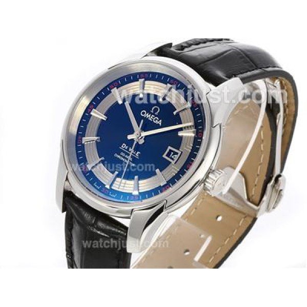 Best UK Sale Omega Hour Vision Automatic Replica Watch With Black And White Dial For Men