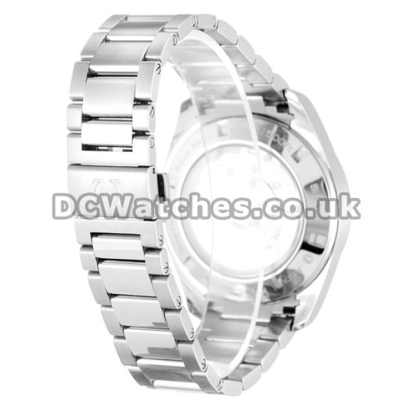 Quality UK Sale Omega Aqua Terra Automatic Fake Watch With White Dial For Men