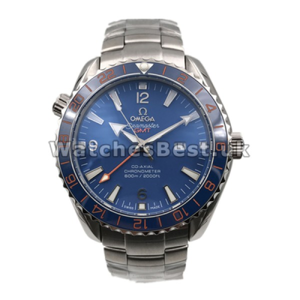 Practical UK Sale Omega Planet Ocean Automatic Replica Watch With Blue Dial For Men